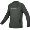 Endura MT500 Burner Long Sleeve Jersey Men khaki